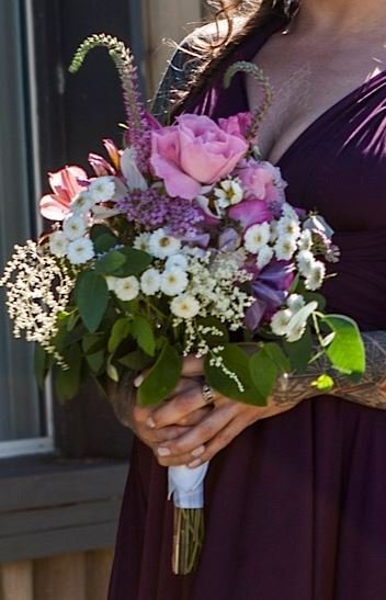maid of honour bouquet